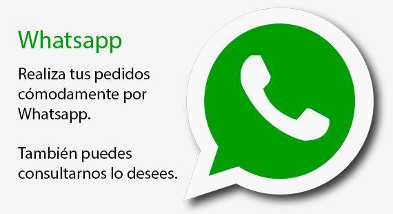 Realiza tu Pedido por WhatsApp