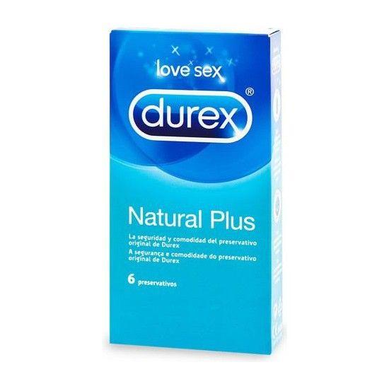 DUREX NATURAL PLUS 6 UDS - 100momentos.es