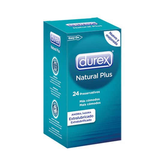 DUREX NATURAL PLUS 24 UDS - 100momentos.es