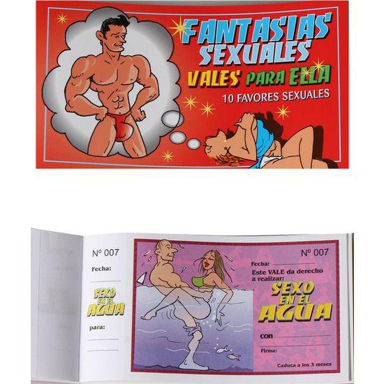 FANTASIAS SEXUALES VALES PARA ELLA - 100momentos.es