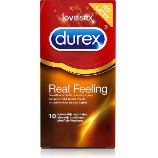DUREX REAL FEELING 10 UDS (6 CAJAS) - 100momentos.es
