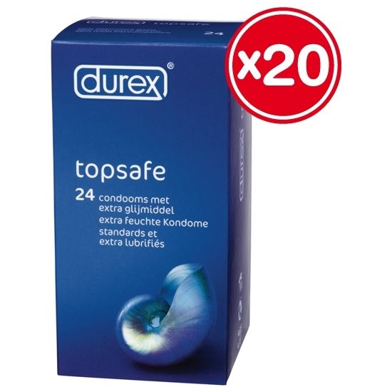 DUREX EXTRA SAFE 3 X 20 PCS - 100momentos.es