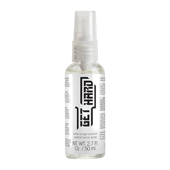 GET HARD SPRAY RETARDANTE DE LA ERECCION 50 ML - 100momentos.es