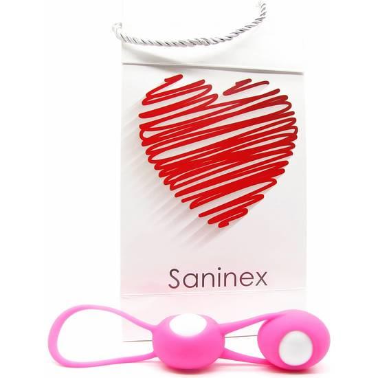 SANINEX ESFERAS OVALES MULTI ORGASMIC WOMAN - 100momentos.es
